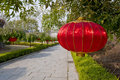 Chinese street lantern Stock Photo