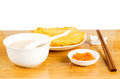 Chinese style breakfast Royalty Free Stock Images