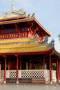 Chinese style building at Bang Pa In, Thailand Stock Photography