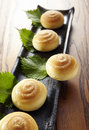 Chinese-style Pineapple buns Stock Photography