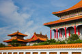 Chinese style temple Royalty Free Stock Images