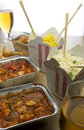 Chinese Takeaway Food Royalty Free Stock Photo