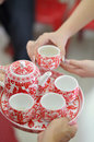 Chinese Tea ceremony Stock Photo