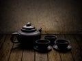 Chinese tea crockery Royalty Free Stock Photo