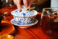Chinese tea time Stock Image