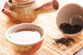 Chinese tea traditional set Royalty Free Stock Image