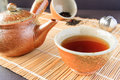 Chinese tea traditional set Royalty Free Stock Photos