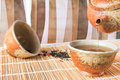 Chinese tea traditional set Royalty Free Stock Images