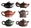 Chinese teapot Royalty Free Stock Images