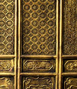 Chinese temple door, Kunming, Yunnan Royalty Free Stock Photo