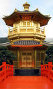 Chinese Temple Pagoda - Hong Kong China Royalty Free Stock Images