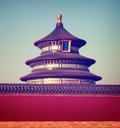 Chinese temple traditional culture travel destinations concept Stock Image