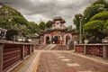 Chinese temple (Vietnam) Royalty Free Stock Images