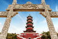 Chinese traditional arch