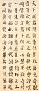 Chinese traditional handwriting character a kind of art and national culture style Royalty Free Stock Images