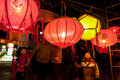 Chinese traditional lantern festival people enjoy homemade lanterns to celebrate liuzhou guangxi zhuang autonomous region china Stock Photography