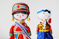 Chinese traditional lovers dolls Stock Images