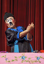 Chinese traditional mime actor