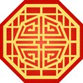 Chinese Traditional Octagon Pattern, Lucky, Fortune