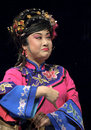 Chinese traditional opera actress Royalty Free Stock Image