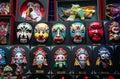 Chinese traditional opera mask souvenir Stock Photos