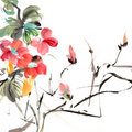 Chinese traditional painting Royalty Free Stock Photography