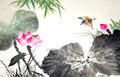 Chinese traditional painting Royalty Free Stock Photo
