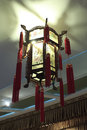 The chinese traditional palace lantern beautiful lanterns Stock Photos