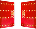 Chinese traditional royal gate Royalty Free Stock Photo