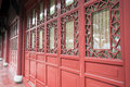 Chinese traditional window and door Royalty Free Stock Photo