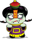 Chinese vampire mama zombie mother Royalty Free Stock Photography