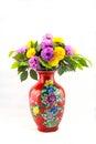 Chinese vase Royalty Free Stock Photo