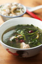 Chinese vegetable soup Stock Images