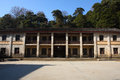 Chinese village school the in the jujing wuyuan china Stock Image