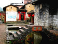 Chinese village  vernacular dwelling Royalty Free Stock Images