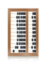 Chinese vintage wooden abacus Stock Photo