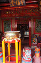 Chinese worship the house of chinense in the area of chinatown in the city of semarang central java indonesia Royalty Free Stock Photo