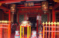 Chinese worship the house of chinense in the area of chinatown in the city of semarang central java indonesia Royalty Free Stock Photos