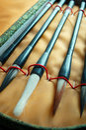 Chinese writing brush Royalty Free Stock Photo