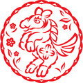 Chinese year of Horse Royalty Free Stock Image