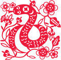 Chinese year of Snake Royalty Free Stock Photos