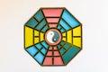 Chinese Yin Yang sign and symbol Royalty Free Stock Photo