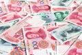 Chinese yuan Royalty Free Stock Photo