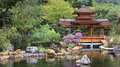 Chinese Zen Garden With Pagoda