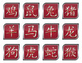 Chinese zodiac signs Royalty Free Stock Image