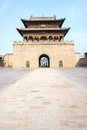 Chineses gate tower Royalty Free Stock Images