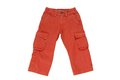Chinos for boy terracotta cotton Stock Photography