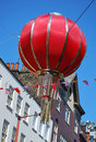 Chintown balloon Stock Images