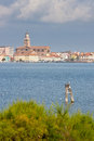 Chioggia a view of small town in the venetian lagoon Royalty Free Stock Image
