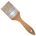 Chip brush wide for painting work vector illustration Stock Photos